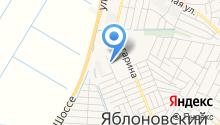 Айшет на карте