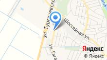 Макси на карте