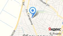 Яблоновская поликлиника на карте