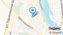 Парикмахерская на Майкопской (Яблоновский) на карте