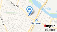 Почтовое отделение связи Яблоновский на карте