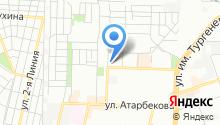 Автомойка на ул. Ковалёва на карте