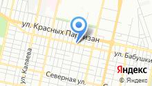 Автомойка на ул. Бабушкина на карте