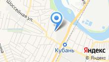 Баня на Заводской на карте