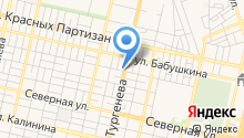 Юринга на карте