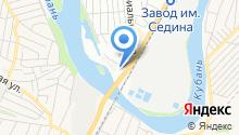 Автодруг на карте