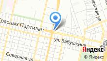 Boroda на карте