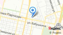 Автомойка на проезде Красных Партизан на карте