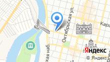 Брюгге на карте