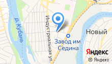 ВЕКСТРОЙ-ЮГ на карте