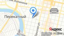 Автомойка на ул. Горького на карте