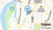 Краснодарский центр международной торговли на карте