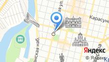 Нотариус Рязанская Е.А. на карте