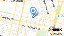 Автомойка на ул. Гагарина на карте