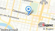 Indoor-агентство индиго на карте