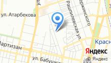 Тодес на карте