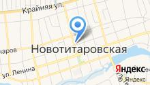 Магазин кондитерских изделий на Советской (Новотитаровская) на карте