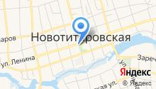 Администрация Новотитаровского сельского поселения Динского района на карте