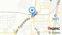 Автомойка на ул. Дзержинского на карте
