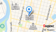 Ярославская труба на карте