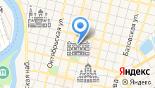 Gоголь на карте