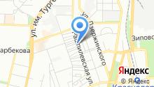 СТО на Рашпилевской на карте