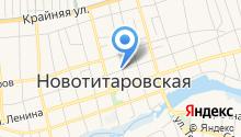 Магазин цветов на Октябрьской (Новотитаровская) на карте
