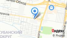 Центр кузовного ремонта на Кореновской на карте