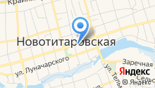 Продовольственный магазин на карте