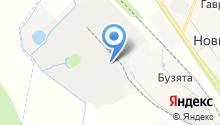 Кроношпан на карте