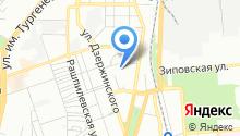 Cпортивная школа №1 на карте