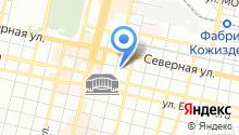 Автомойка на ул. Головатого на карте