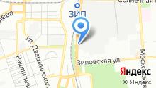 Автогласер на карте