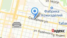 Автомойка на ул. Леваневского на карте
