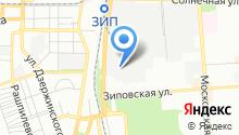 Автотема-Юг на карте