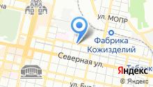 DFM-Краснодар, FM 106.0 на карте