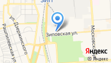 R-ed на карте