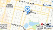 Автомойка на ул. Костылева на карте