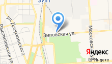 EVITA на карте