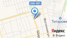 Торговая компания на карте