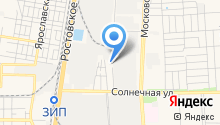 Автопак на Кубани на карте