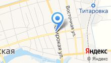 Продовольственный магазин на ул. Ленина (Новотитаровская) на карте