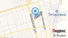 Продовольственный магазин на Октябрьской (Новотитаровская) на карте