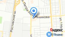 Gaz-line на карте