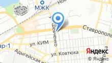 FastService-mobile на карте