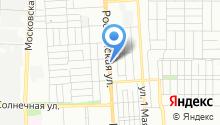 Автомойка на Российской на карте