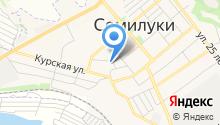 Семилукская средняя общеобразовательная школа №1 на карте