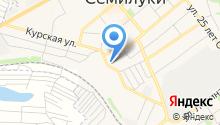 Семилукская районная станция по борьбе с болезнями животных на карте