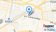 Автомойка на ул. Селезнёва на карте