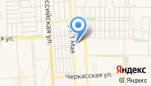 АвтоЛидерКубань на карте